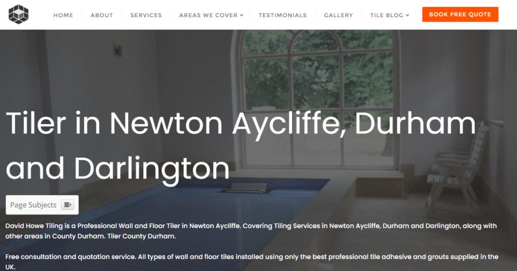 David Howe Tiling - TilerNewtonAycliffe.co.uk